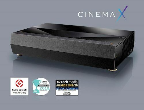 Optoma CinemaX P2 zwart € 3.099,-