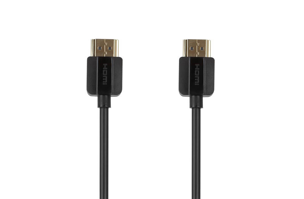 KanexPro SuperSlim Premium High Speed Certified HDMI kabel - Lengte 1m