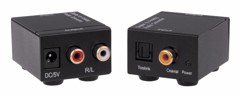 KanexPro Digitaal naar analoge audio converter