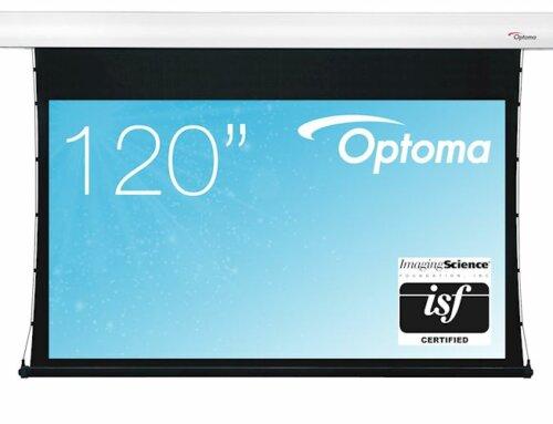 Optoma 120 inch elektrisch spankabel projectiescherm € 1399,-