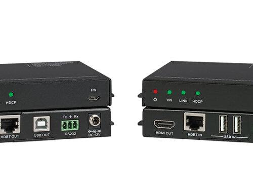 KanexPro 4K HDMI® HDBaseT 2.0 extender USB 2.0 KVM