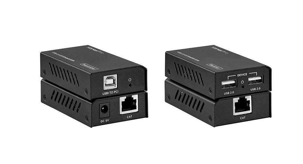 USB 2.0 Extender over Cat6 50 Meter