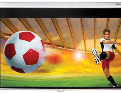 Optoma 92 inch handmatig trek projectiescherm €119,-
