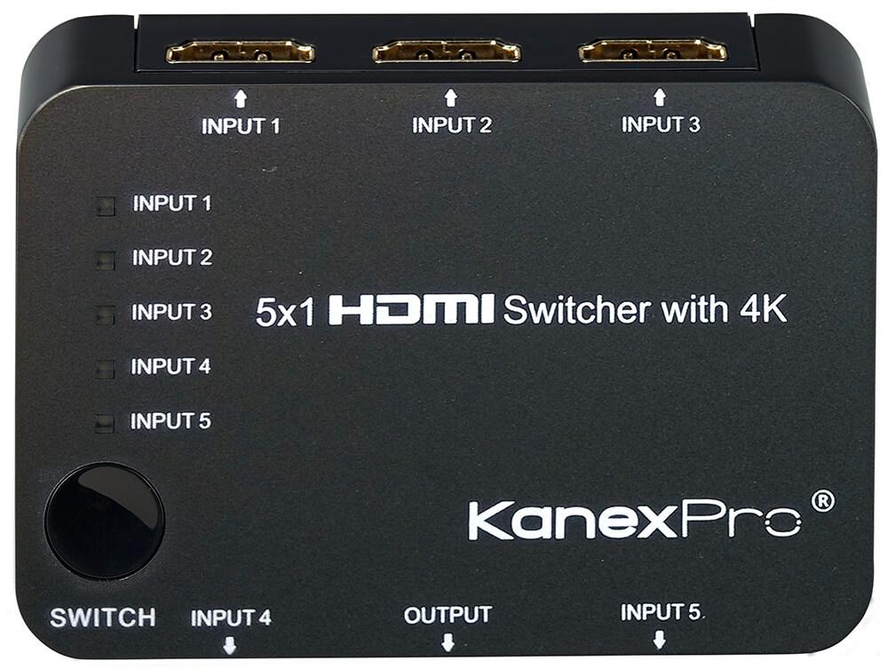 KanexPro 5x1 HDMI switch