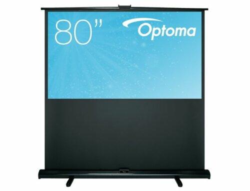 Optoma 80 inch handmatig vloerstaand projectiescherm 170x100cm 16/9 € 289,-