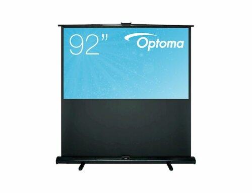 Optoma 92 inch handmatig vloerstaand projectiescherm 203x115cm 16/9 € 389,-